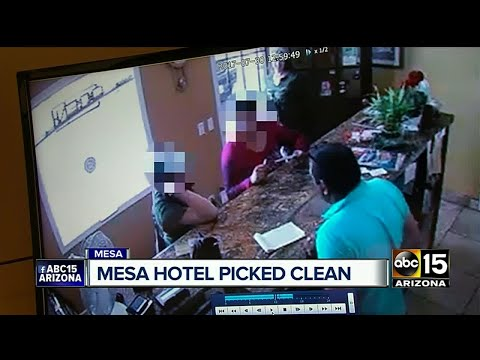 Mesa hotel owner says thousands in cash and jewelry was stolen Sunday