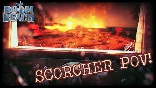 Boom Beach: Scorcher Tank POV - The Scorched Crab Rises!