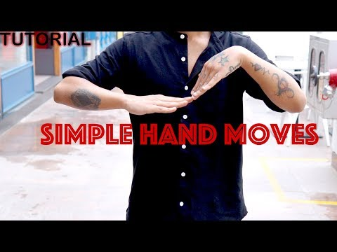Simple Hand Moves Tutorial (Arm Wave)