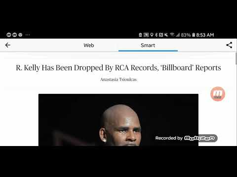 R Kelly has been dropped by his record label RCA records. Mp3