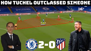 | Tactical Analysis: Chelsea 2 - 0 Atletico Madrid | Another Big Win For Tuchel |