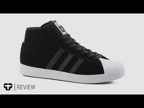 eb21e6b2fa Adidas Pro Model Vulc ADV Skate Shoes Review - Tactics.com