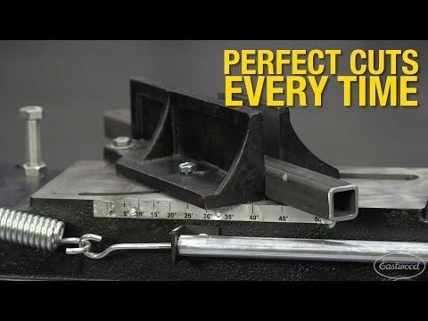 """Cut Metal Tubing Up to 4.5"""" Diameter - Horizontal/Vertical Bandsaw - Eastwood"""