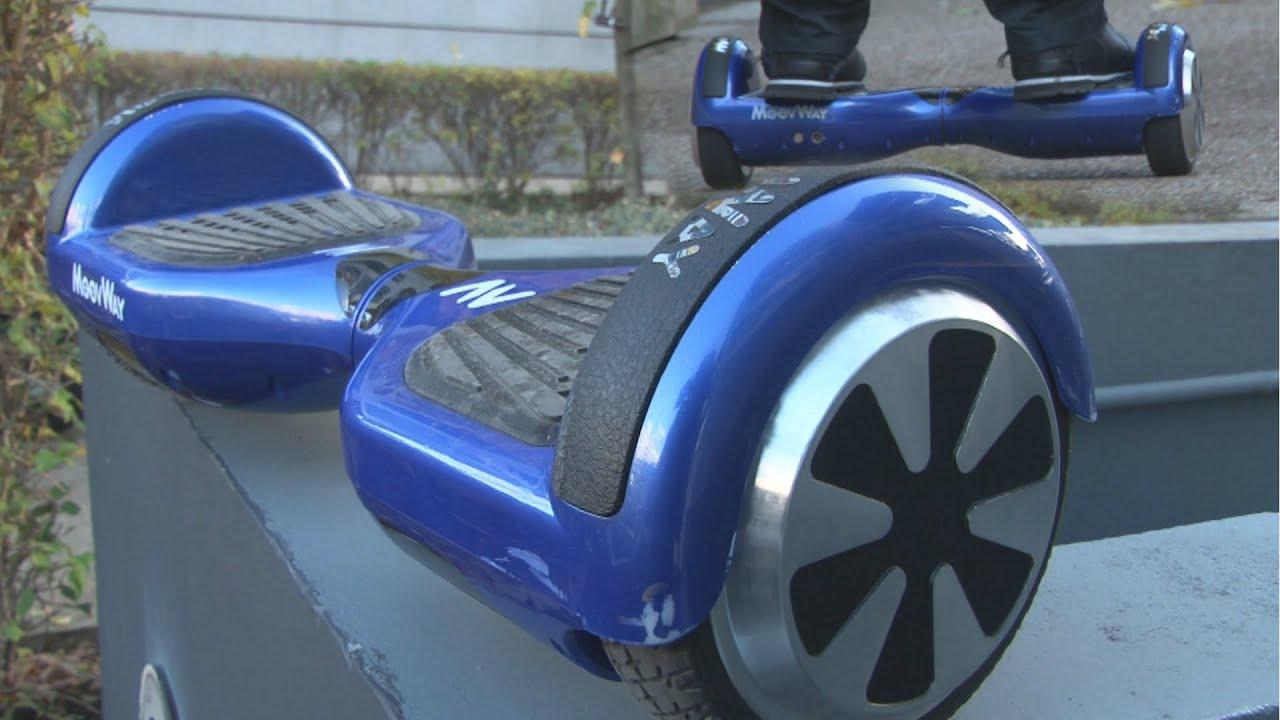 Hoverboard électrique Moovway : une super idée de cadeau pour Noël ?