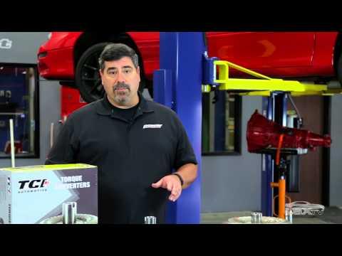 TCI Auto GM Bolt-Together High Stall Torque Converter Installation