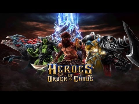 Heroes of Order & Chaos – Universal – HD Multiplayer (3vs3) Gameplay Trailer