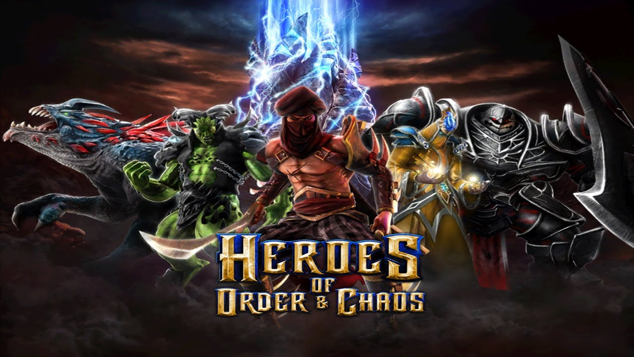 Heroes of Order  Chaos  Universal  HD Multiplayer 3vs3