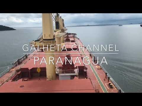 GALHETA CHANNEL, BRAZIL TRANSIT
