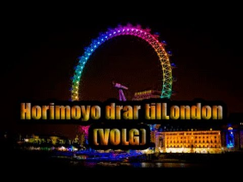 Horimoyo drar til London 2014 (VLOG)