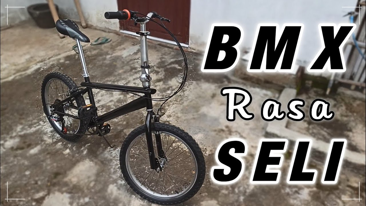 Modifikasi Bmx Rasa Seli Reparasi Sepeda Bmx Wim Cycle Jadul Youtube