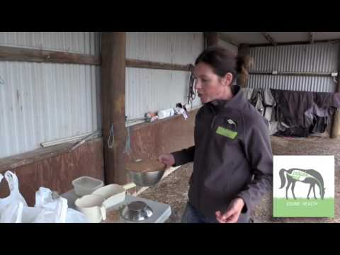 Why weighing your horse's feeds is important