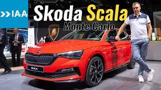 Skoda Scala Monte Carlo // Франкфуртский автосалон 2019