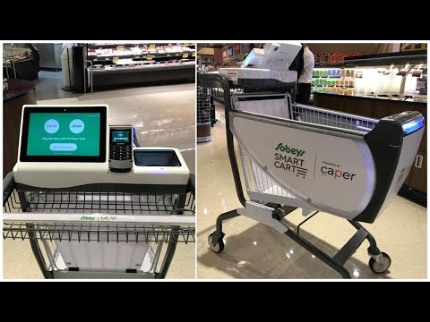 Grocery 'smart cart' being pilot tested by Sobeys