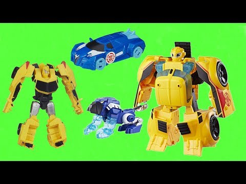 Giant Transformers Surprise Egg Rescue Bots Bumblebee Rescue Guard