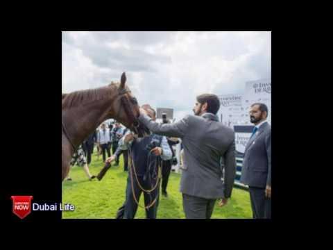 H.H Sheikh Mohammed H.H Sheikh Hamdan at Epsom Downs Racecourses