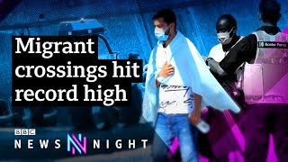 Why are migrants crossing the English Channel? - BBC Newsnight