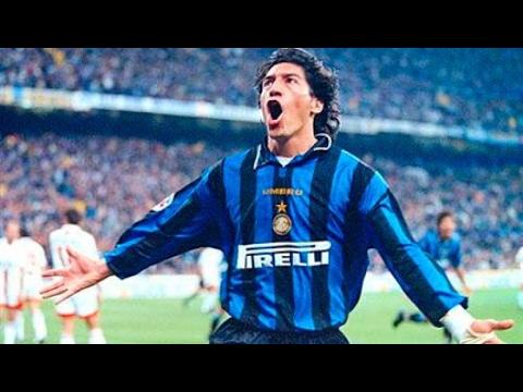 Goles de Iván Zamorano en Inter de Milan 1996 2000