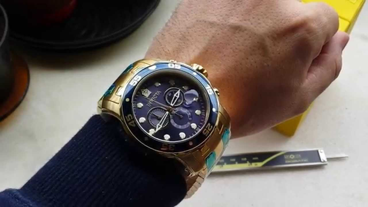 aca5a098c17 Relógio Invicta 0073 pro diver original Altarelojoaria compre já o seu -  YouTube