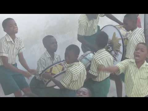 Kids in Africa are Awesome! Watch how they start their school day...