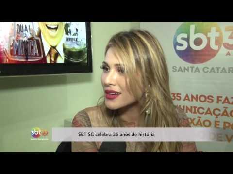 SBT SC celebra 35 anos de história