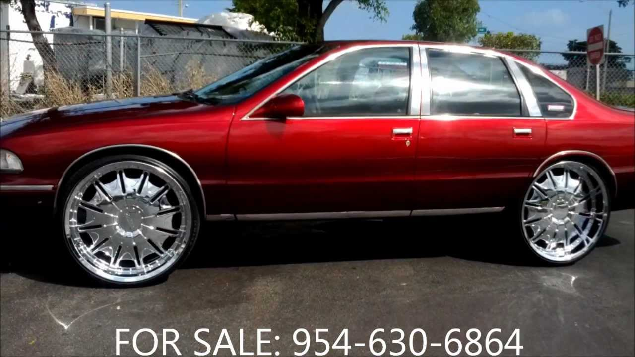 Acewhips Net On Sale Candy Red Chevy Caprice On 26