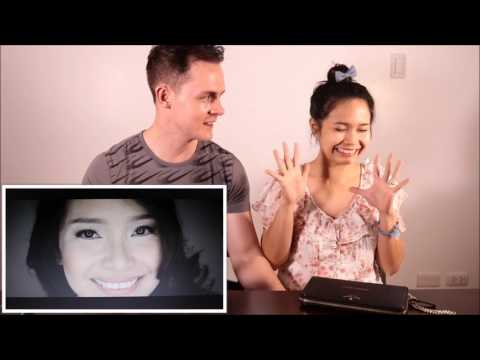 Filipina Australian couple react to their wedding video