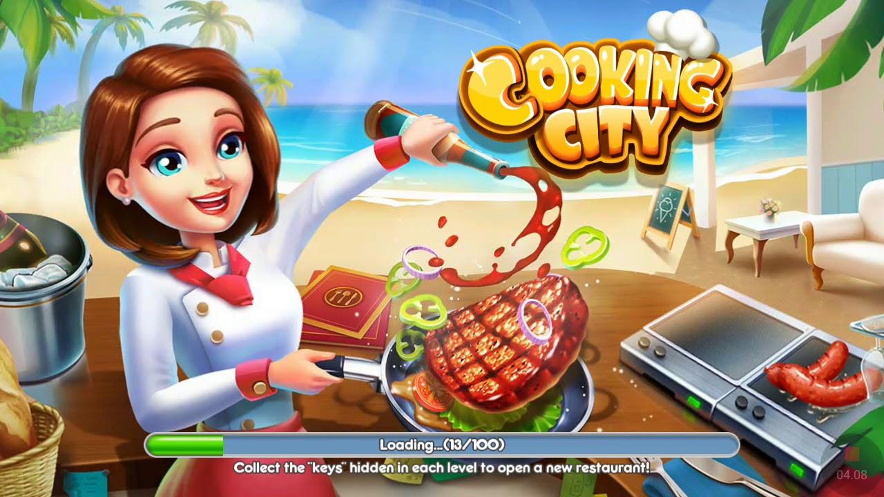 Permainan Masak Masakan Di Burger Shop Cooking City Youtube