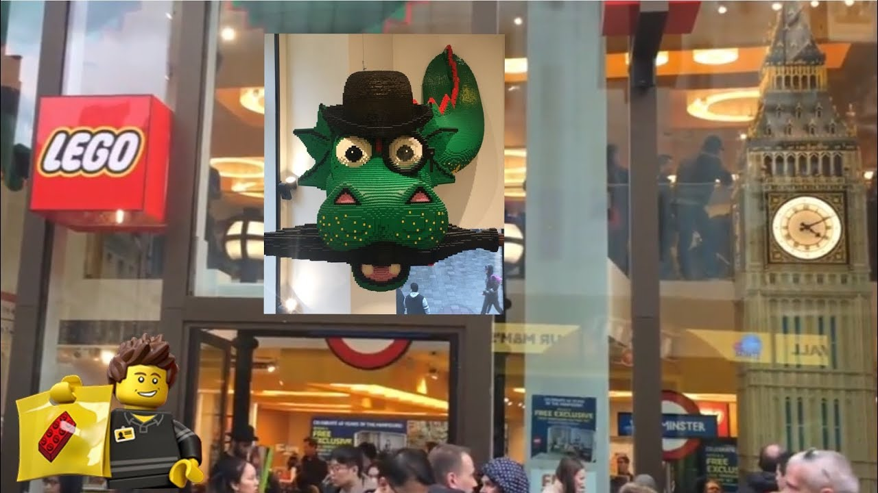 Inside Lego Store London Full Tour Youtube