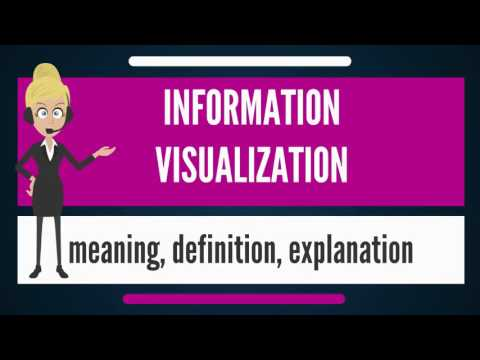 What is INFORMATION VISUALIZATION? What does INFORMATION VISUALIZATION mean?
