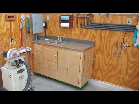 Shop Sink Storage Cabinet