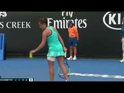 Puntos destacados, Semifinal Australia Jr 2018- Elisabetta COCCIARETTO VS En Shuo LIANG