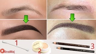 Eyebrows Shapes For Women ♡ How To Shape 2 Perfect Eyebrows