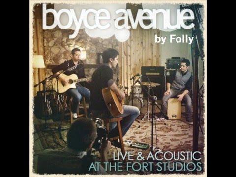 DVD Boyce Avenue Acústico - Editado Por Luiz Folly