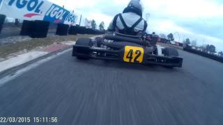 DBS Section Kart : Course Biganos 22-03-2015 Pré-Finale