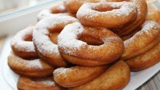 Пончики из жидкого теста
