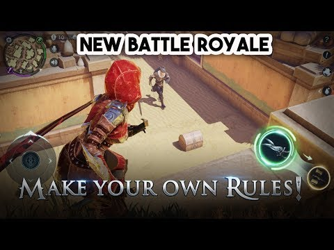 Battle Royale King Of Hunters Gameplay Android - iOS (by NetEase)