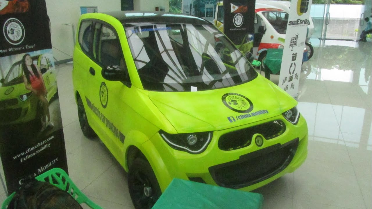 Genius Ev Clima Mobility Electric Car Philippines Asean
