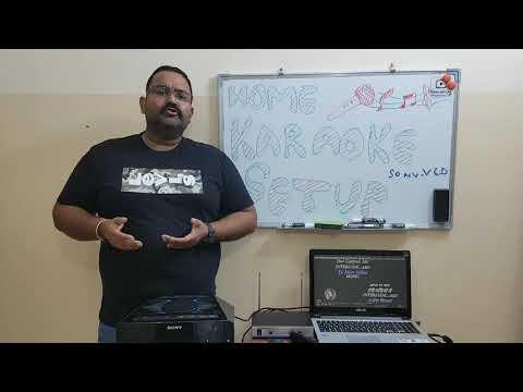 Home Karaoke Setup Using Laptop And Youtube