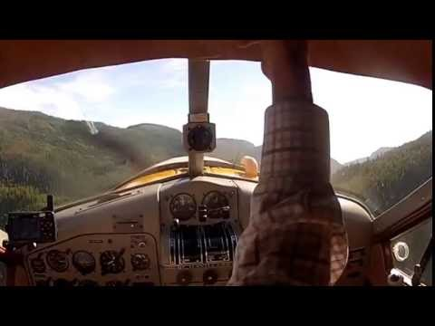 DeHavilland Beaver Seaplane Flight with Jim the Pilot