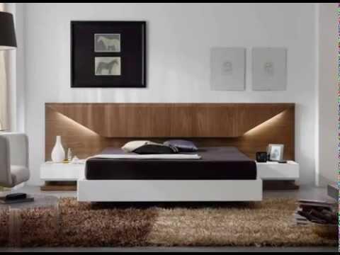Cabeceros de diseo con luces y camas con canapes  YouTube