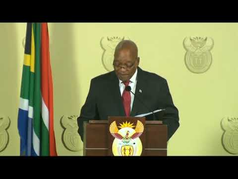 I resign, but not because l agree with you – Jacob Zuma