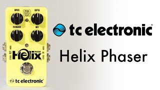 TC Electronic Helix Phaser Demo (with Les Paul, Strat, Tele & DX7)
