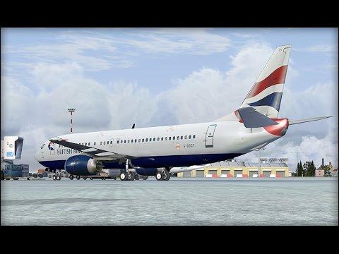 FSX - Charels DeGualle to London Gatwick
