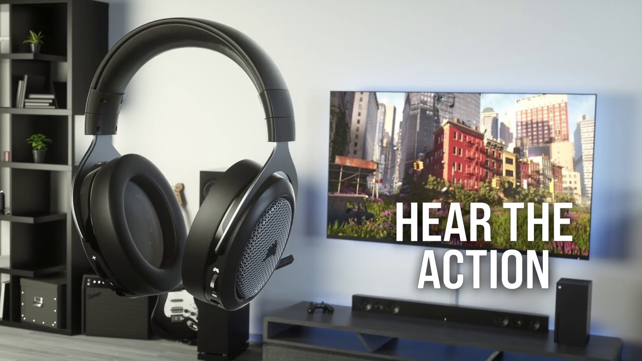 CORSAIR Launches HS75 XB WIRELESS Headset – Word of the Nerd