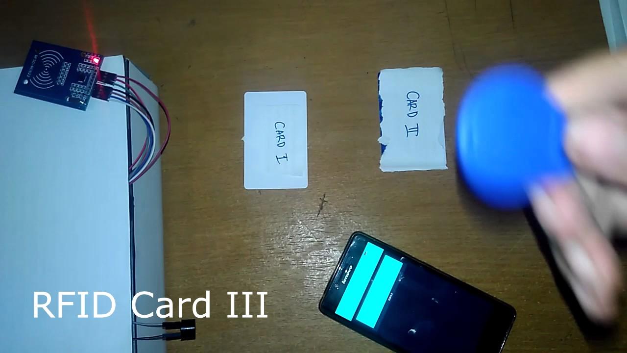 RFID send data to BLynk - pcbgear