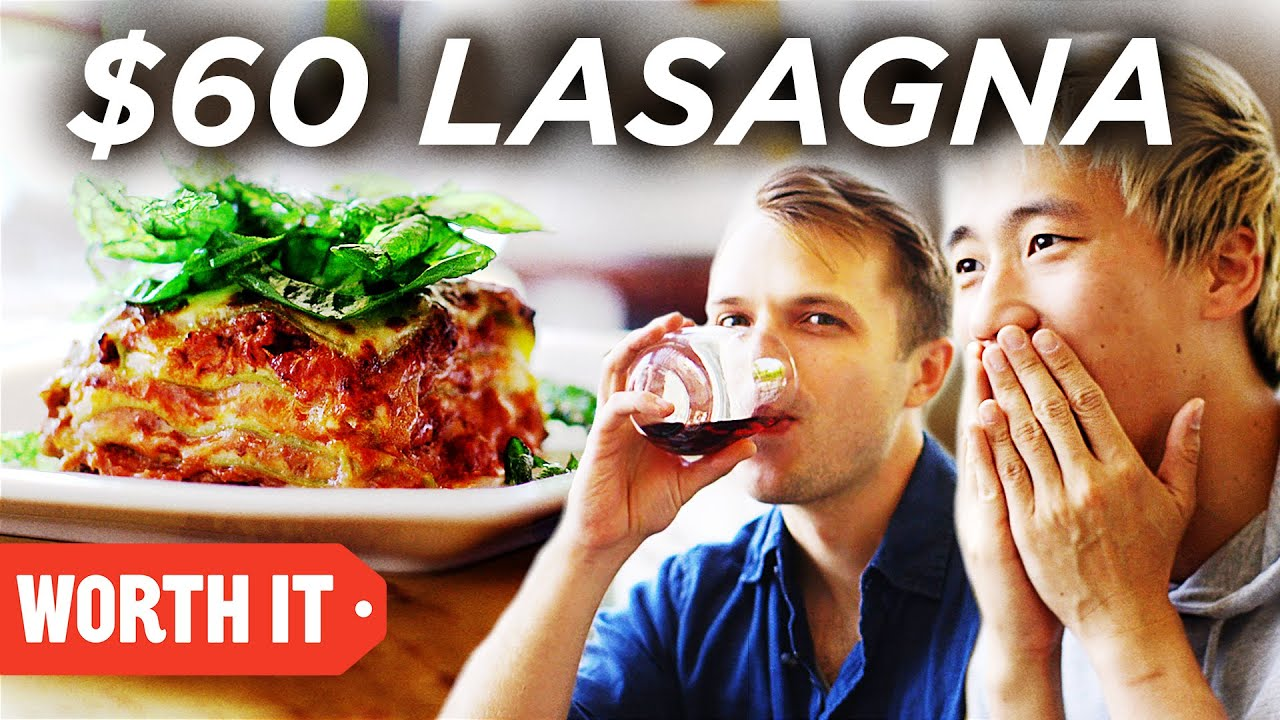 Download $13 Lasagna Vs. $60 Lasagna