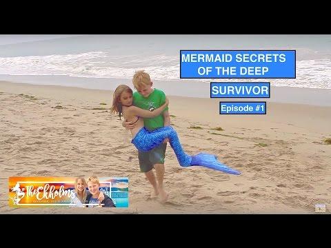 Mermaid Secrets of The  Deep - Episode #1 - SURVIVOR fragman