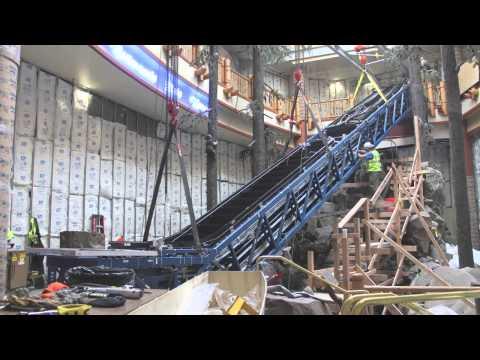Chinook Winds Casino Resort - Escalator Replacement Project