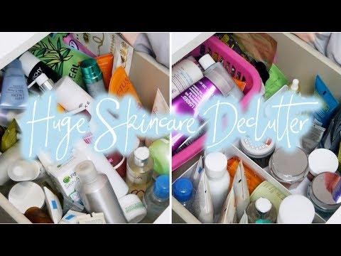 Summer Declutter Part 1: Skincare | Behind The Scent
