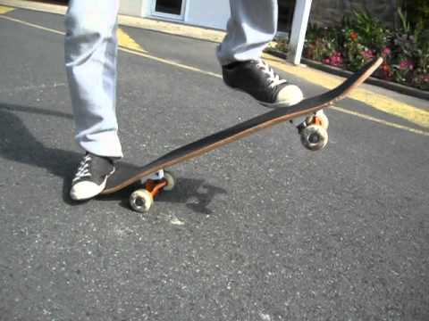Tuto2 comment faire du skate 4 roues d butant youtube - Comment faire du skateboard ...